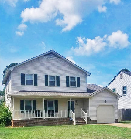 Front of property located at 931 Chartwell Drive, Newport News, VA 23608