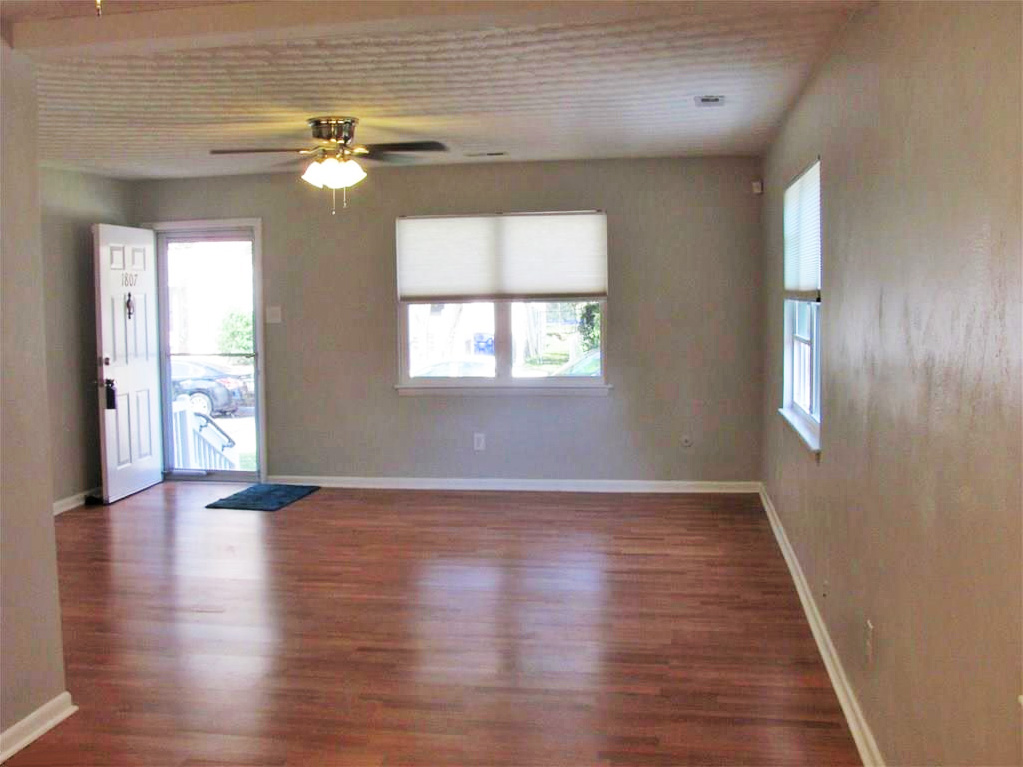 Den  area of property located at 1807 Bourbon Avenue, Norfolk, Virginia 23509