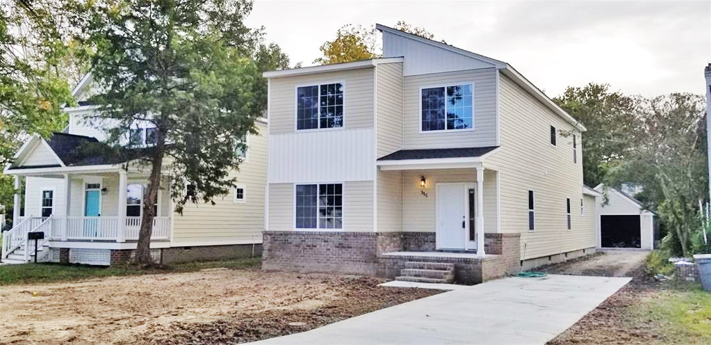 Front of property located at 315 Cottonwood Avenue, Hampton, VA 23661