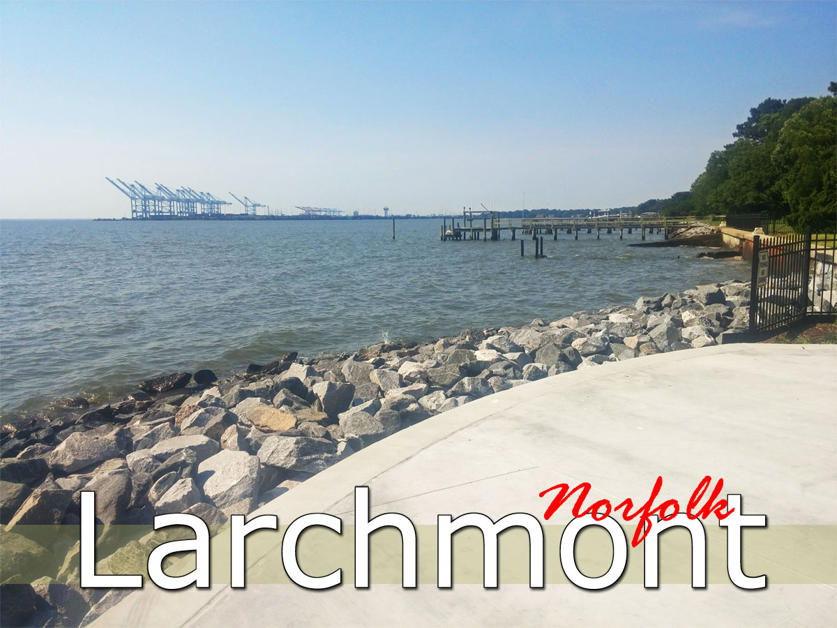 Spotlight On The Larchmont Neighborhood In Norfolk!