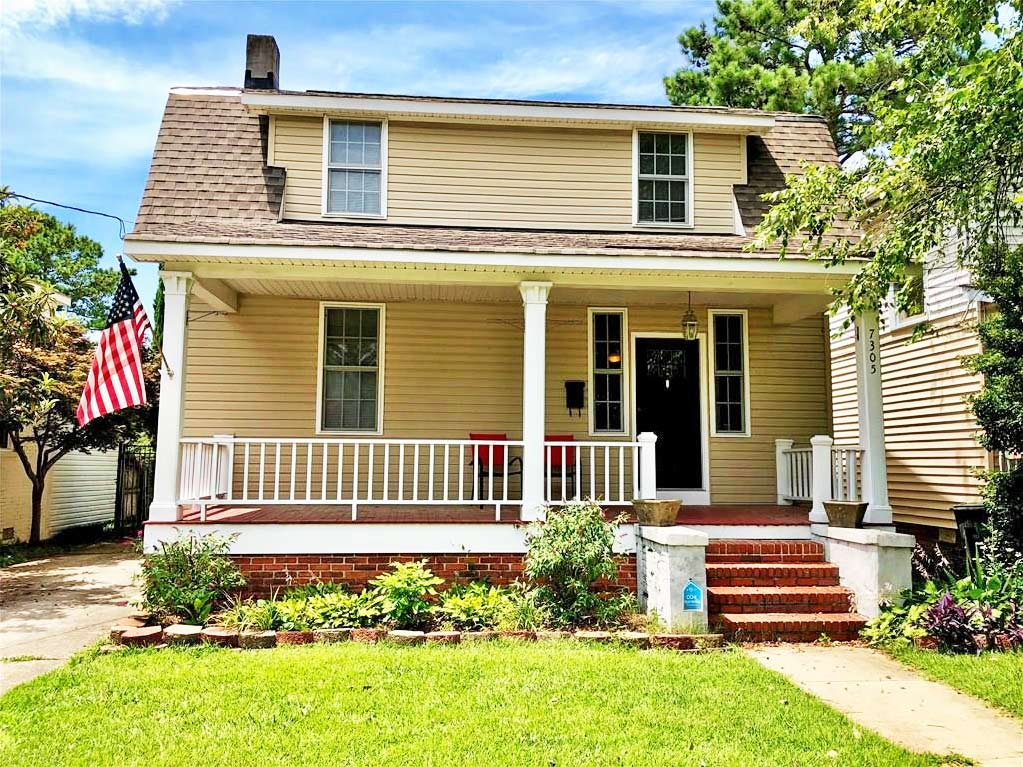 Front of property located at 7305 Major Avenue, Norfolk, Virginia 23505