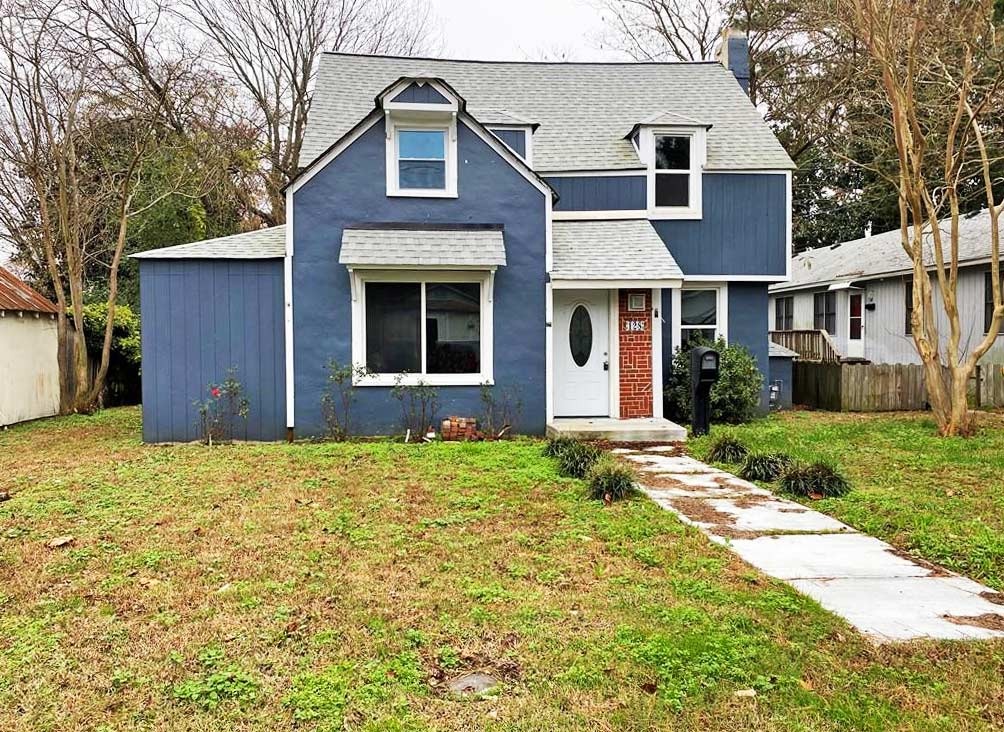 Front of property located at 128 N 4th Street, Hampton, VA 23664