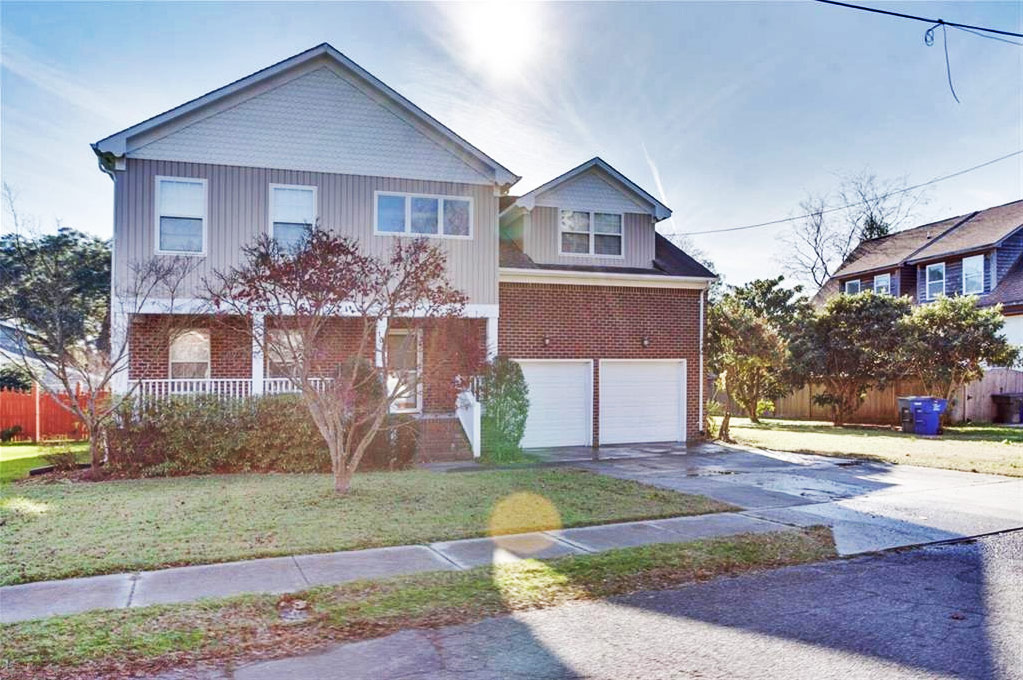 Front of property located at 107 Orchard Street, Norfolk, Virginia 23505