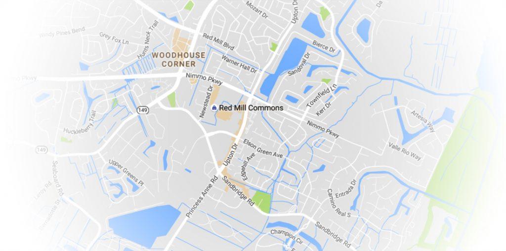 Red Mill Neighborhoods map