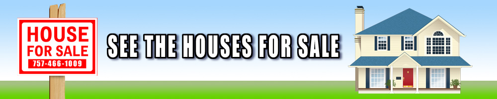 See The Houses For Sale, Illustration of House For Sale Sign, Grass, Sky, and a house.