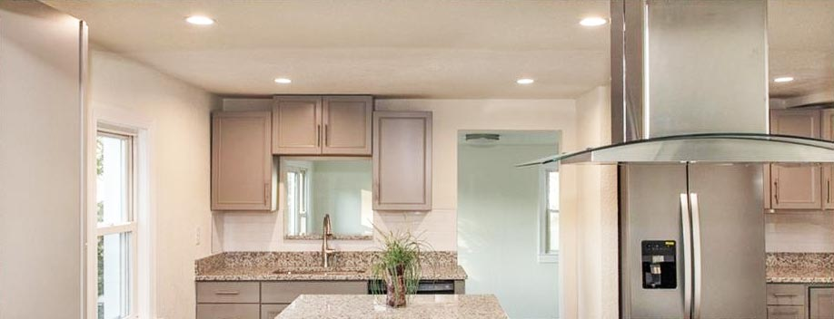 Kitchen view of property located at 100 S Boggs Avenue, Virginia Beach, Virginia 23452
