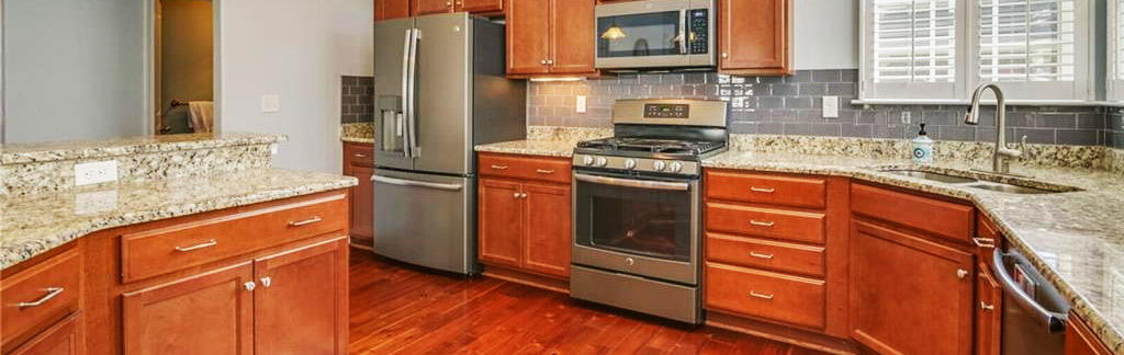 Kitchen of property located at 5205 Finchley Lane, Virginia Beach, VA 23455