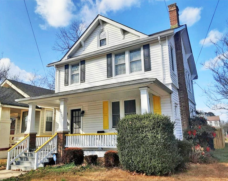 Front of property located at 1700 Leckie Street, Portsmouth, VA 23704
