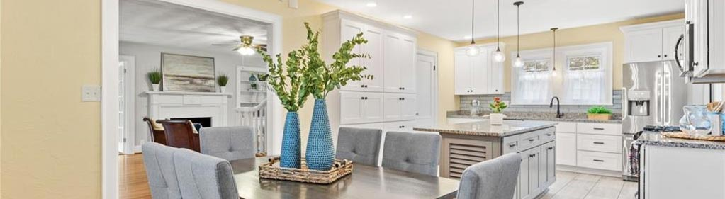 Kitchen of property located at 518 Rockbridge Road, Portsmouth, Virginia 23707