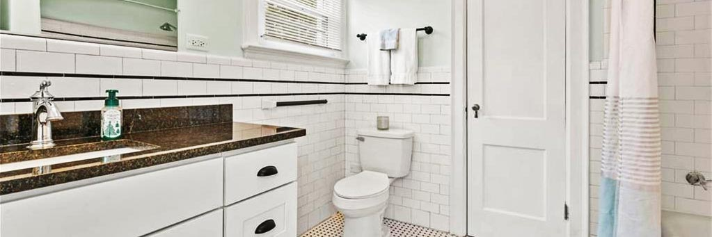 Bathroom of house located at 518 Rockbridge Road, Portsmouth, Virginia 23707