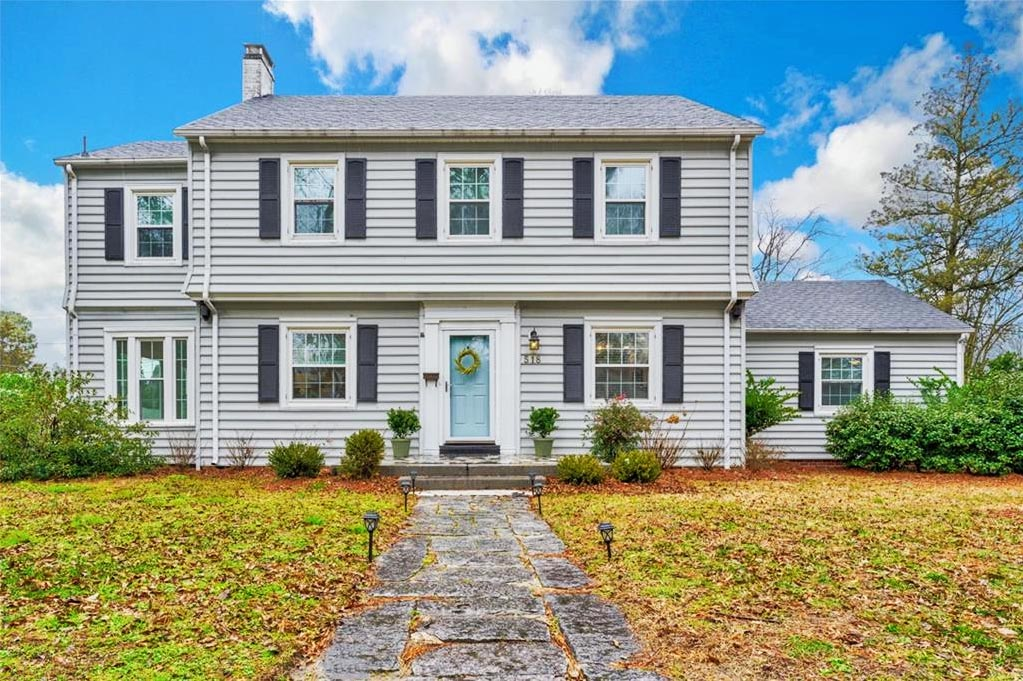 Front of property located at 518 Rockbridge Road, Portsmouth, Virginia 23707