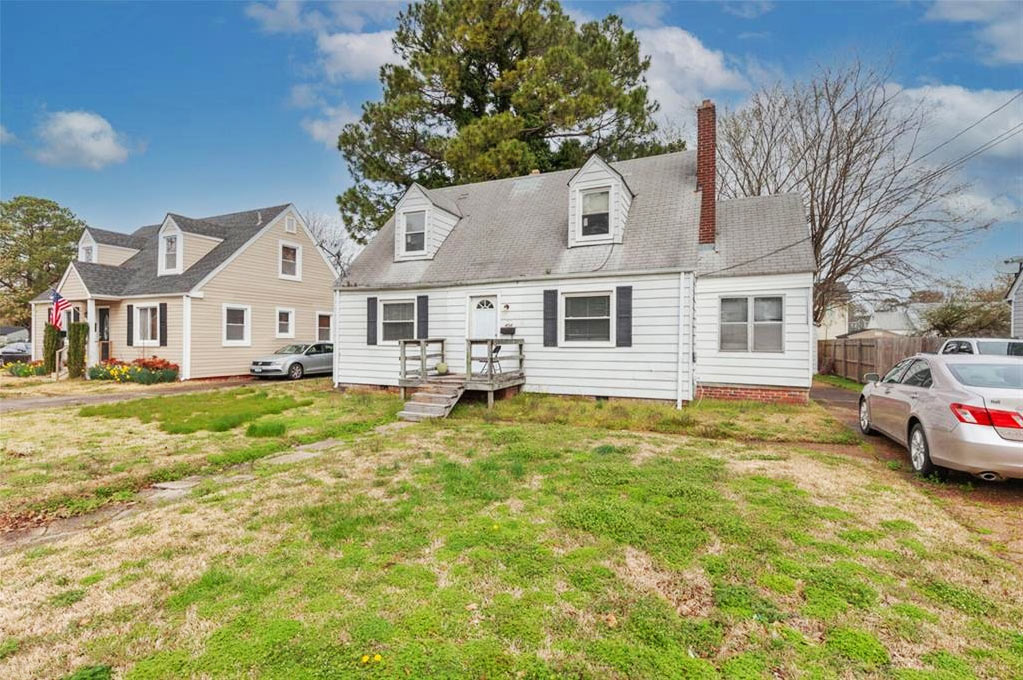 Front of property located at 404 Ashlawn Drive, Norfolk, VA 23505