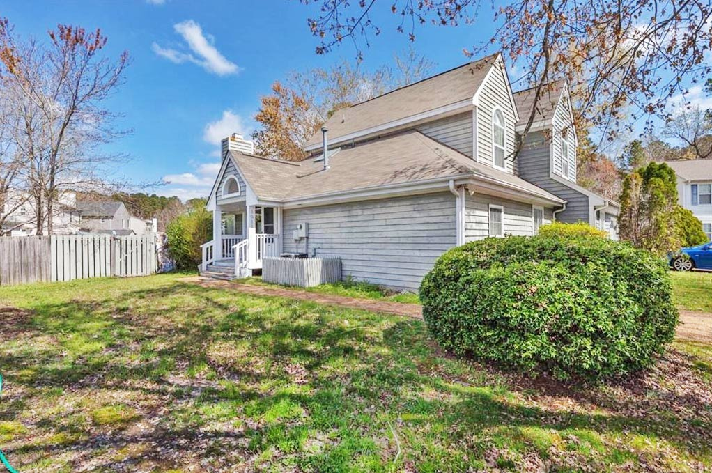 Front of property located at 1011 Plum Court, Newport News, VA 23608