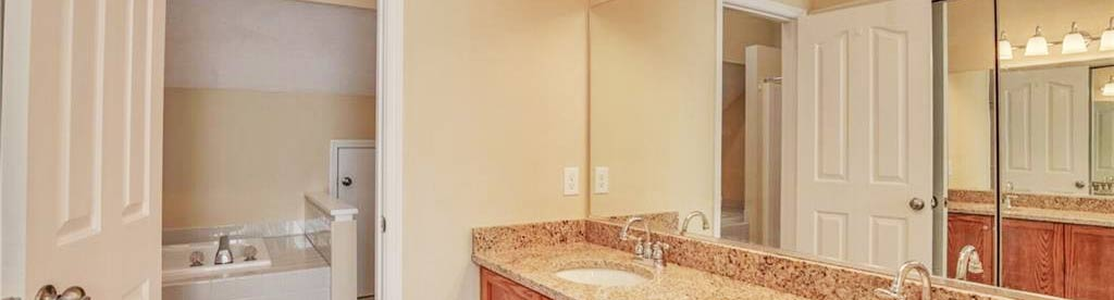 Bathroom of property located at 1011 Plum Court, Newport News, VA 23608