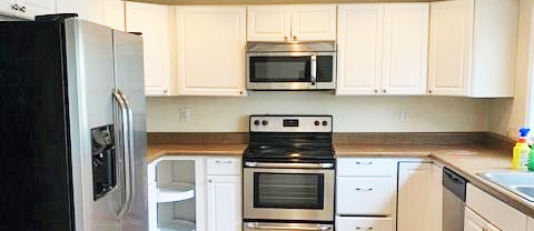 Kitchen in the property located at 901 E Indian River Road, Norfolk, VA 23523