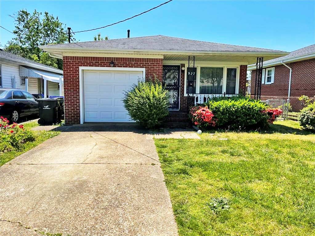 Front of house located at 927 Albert Avenue, Norfolk, Virginia 23513