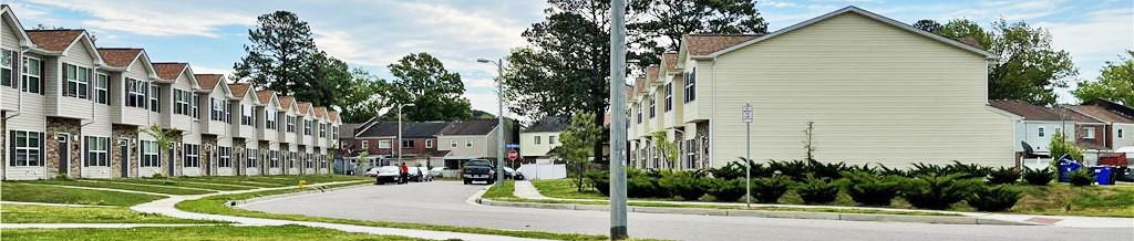 Street view of property located at 6600 Pryer Lane, Norfolk, Virginia 23502