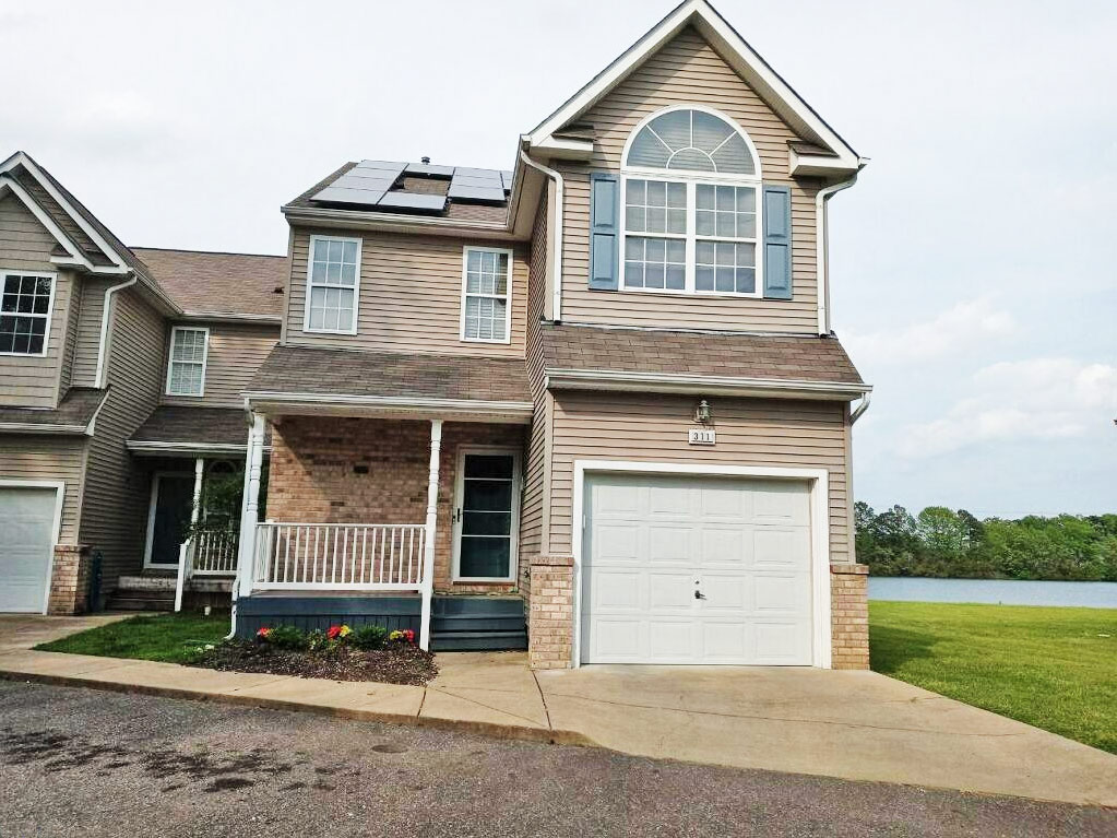 Front of property located at 311 Reflection Lane, Hampton, Virginia 23666
