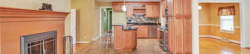 View of kitchen inside property located at 1505 Carson Crescent E, Portsmouth, Virginia 23701
