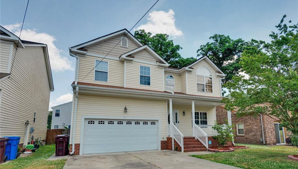 Front of property located at 2022 English Avenue, Chesapeake, VA 23320