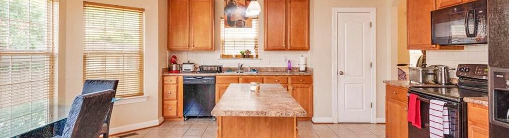 Kitchen in property located at 2022 English Avenue, Chesapeake, VA 23320