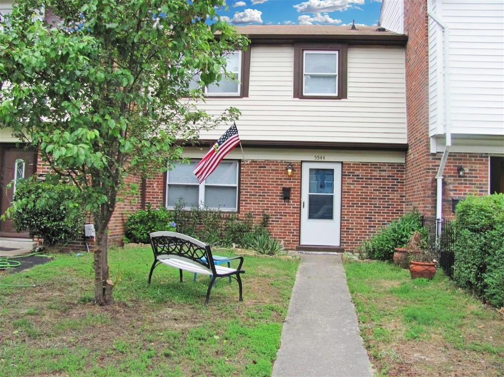 Front of property located at 5544 New Colony Drive, Virginia Beach, VA 23464