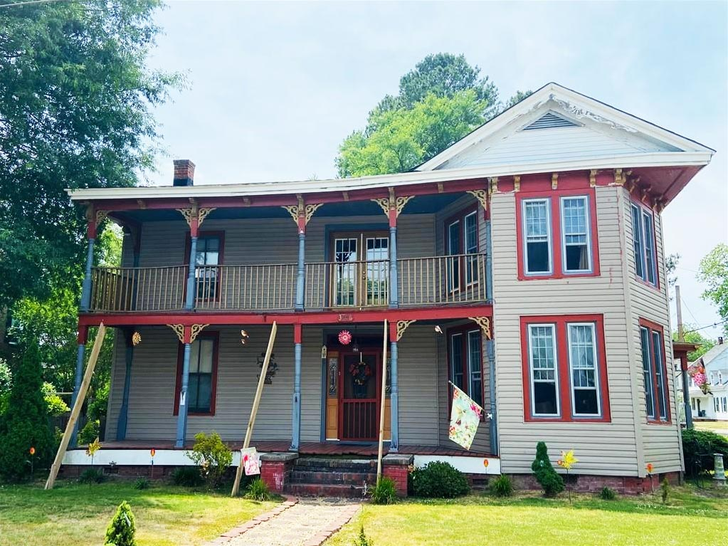 Front of property located at 32156 S Main Street, Boykins, VA 23827