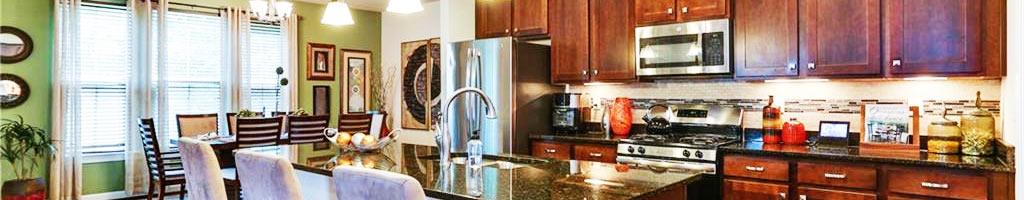Kitchen of the property located at 105 Wisdom Path, Chesapeake, VA 23322