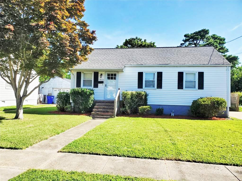 Front of property located at 1806 Broadfield Road, Norfolk, VA 23503