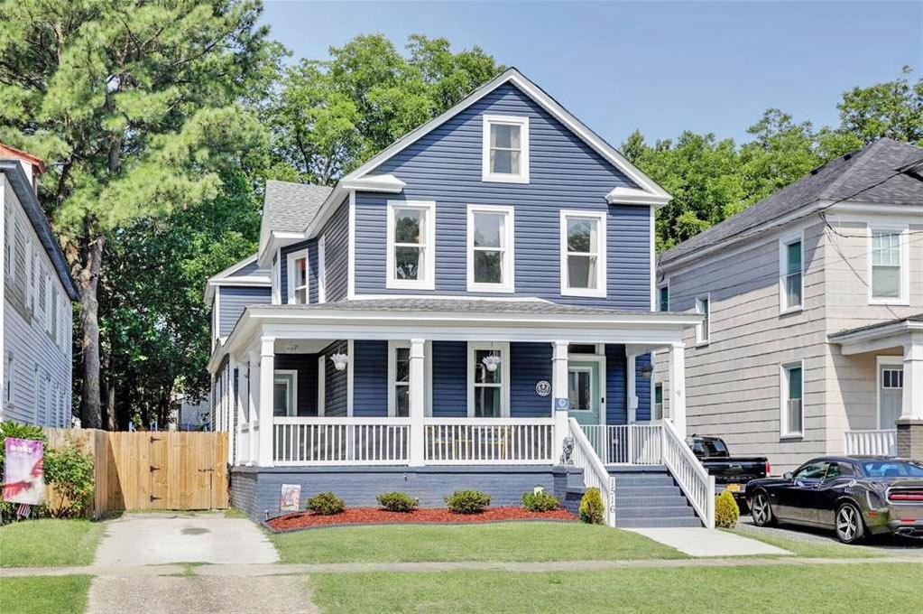 Front of property located at 1516 Chesapeake Avenue, Chesapeake, VA 23324