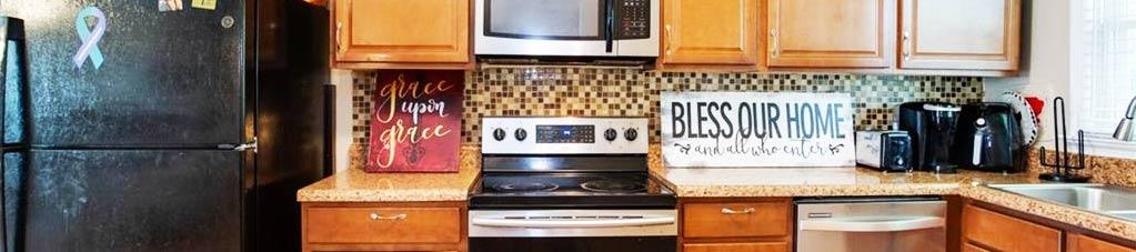 Kitchen of property located at 4813 Mallard Crescent, Portsmouth, VA 23703