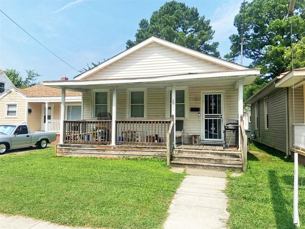 Front of property located at 2941 Marne Avenue, Norfolk, Virginia 23509