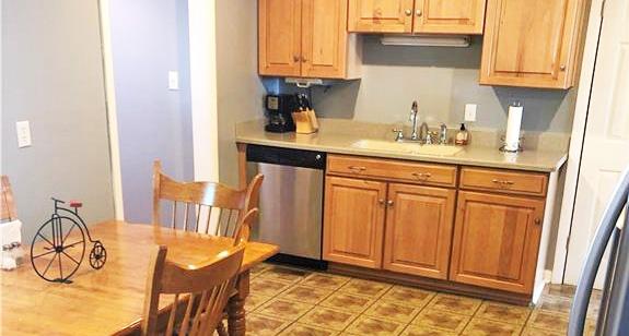 Kitchen of property located at 232 Martha Lee Drive, Hampton, Virginia 23666