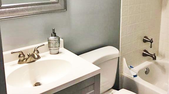 Bathroom of property located at 232 Martha Lee Drive, Hampton, Virginia 23666
