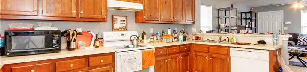 Kitchen of property located at 1445 Oliver Avenue, Chesapeake, Virginia 23324