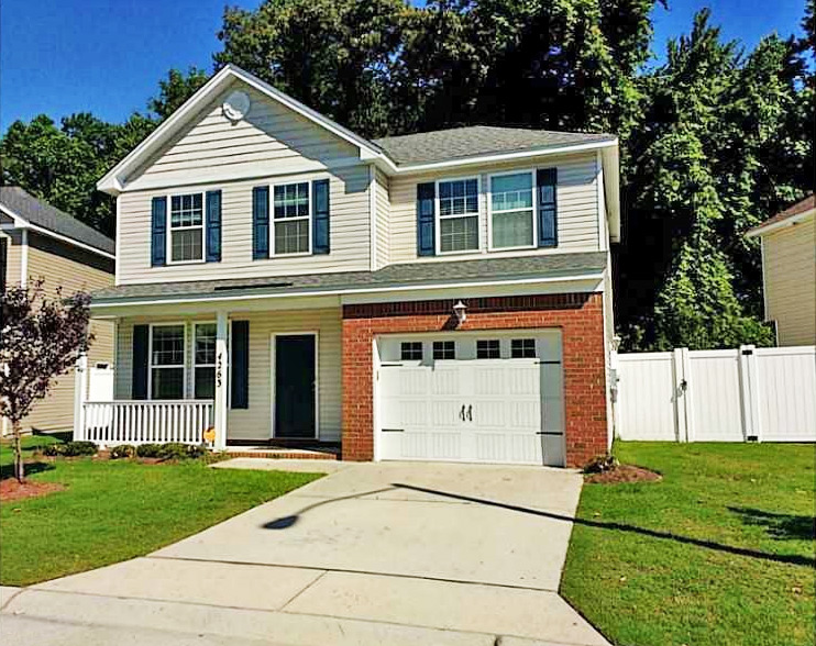 Front of property located at 4263 White Cap Crest, Chesapeake, VA 23321