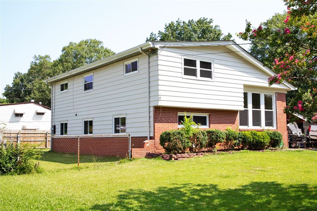 Front of property located at 4616 Woolsey Street, Norfolk, VA 23513