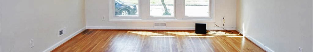 Floors and windows of property located at 4616 Woolsey Street, Norfolk, VA 23513
