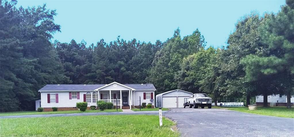 Front of property located at 6863 Belfield Road, La Crosse, Virginia 23950