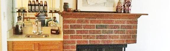 Fireplace, Bar of property located at 1249 Hillock Crossing, Virginia Beach, Virginia 23455