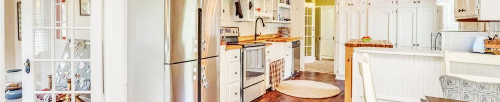 Kitchen in property located at 5140 Holy Neck Road, Suffolk, Virginia 23437