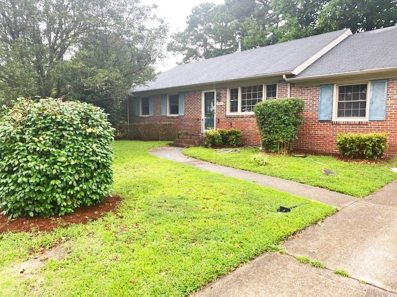 Front of property located at 3716 Linnet Lane, Portsmouth, VA 23703