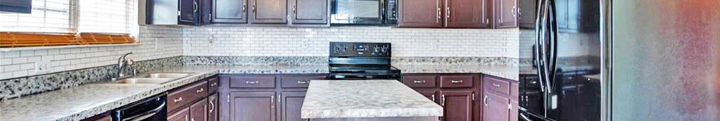 Kitchen of property located at 509 Mount Pleasant Dr, Portsmouth, VA 2370