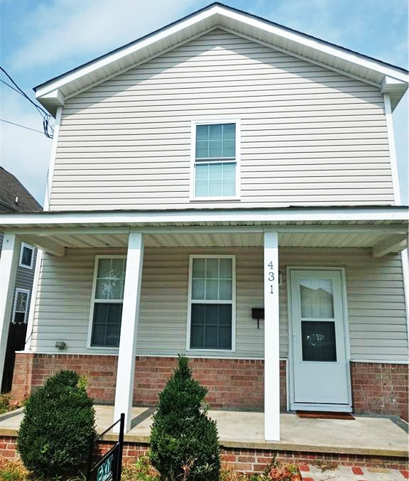 Front of property located at 431 Pendleton Street, Norfolk, VA 23523