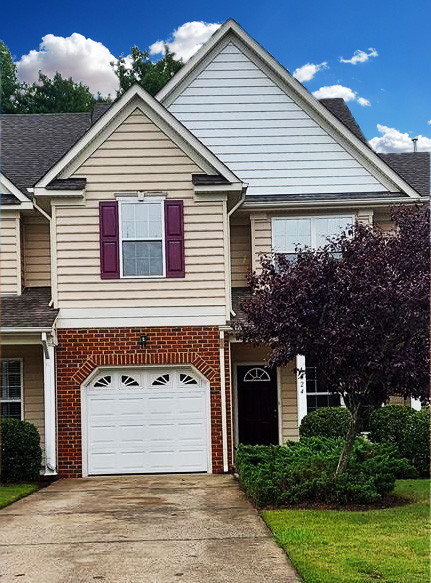 Front of townhouse located at 6024 Rollingwood Street, Suffolk, Virginia 23435