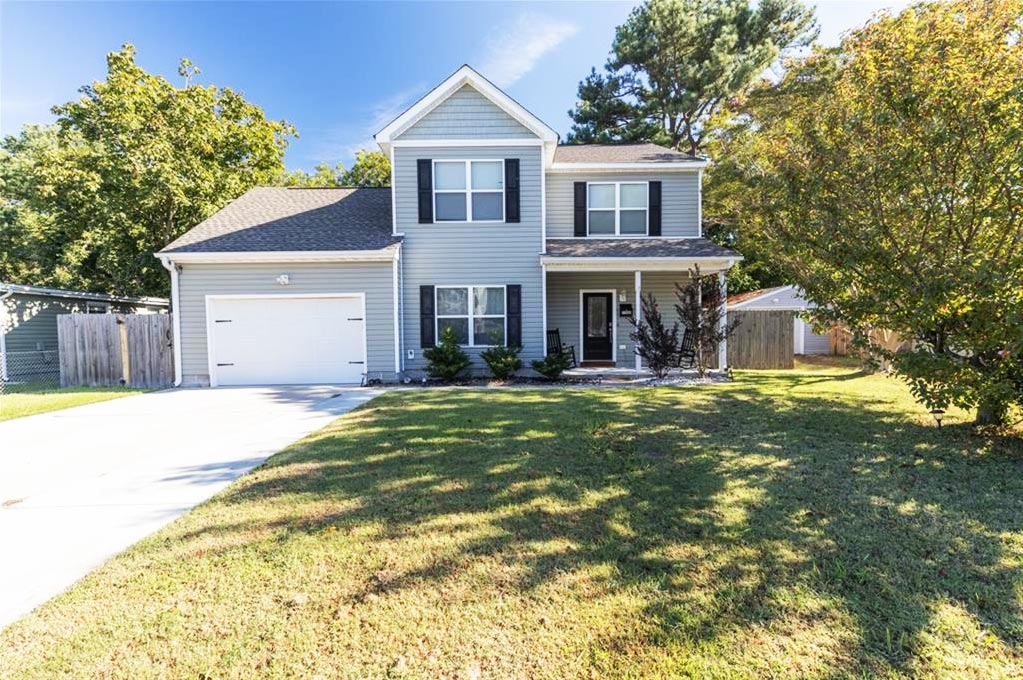 Front of property located at 2509 Pringle Drive, Chesapeake, VA 23325