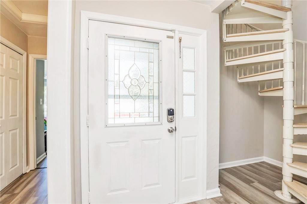 Door in property located at 222 Abingdon Court, Suffolk, Virginia 23434